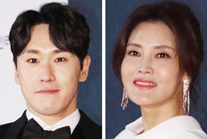 뮤지컬 배우 조형균(왼쪽), 김선영