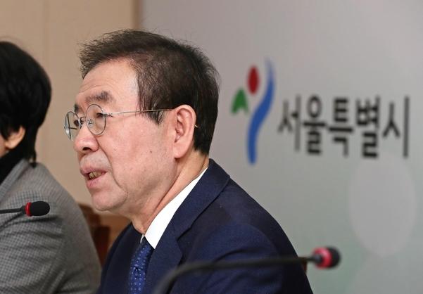 박원순 서울시장./연합뉴스