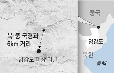 북·중 국경과 6km 거리
