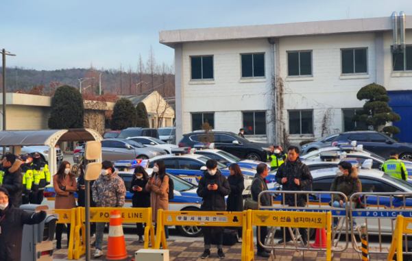 31일 오전 9시쯤 서울 강서구 김포공항 비즈니스항공센터(SGBAC) A게이트 앞의 모습. /정민하 기자