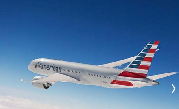 아메리칸 항공기. /아메리칸항공 홈페이지 캡처