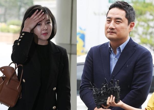 도도맘(김미나)·강용석 변호사/연합뉴스