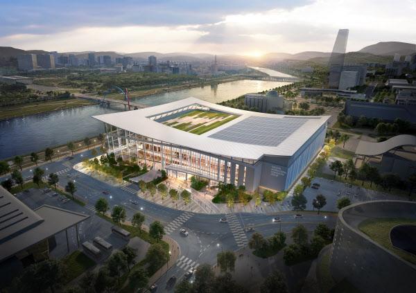 대전국제전시컨벤션센터(DICC) 조감도