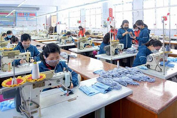 북한 마스크 생산 공장./노동신문 홈페이지 캡처