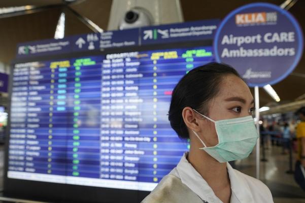 말레이시아 쿠알라룸푸르 공항./ AP연합뉴스