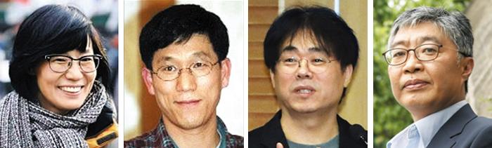 임미리, 진중권, 김경율, 우석훈