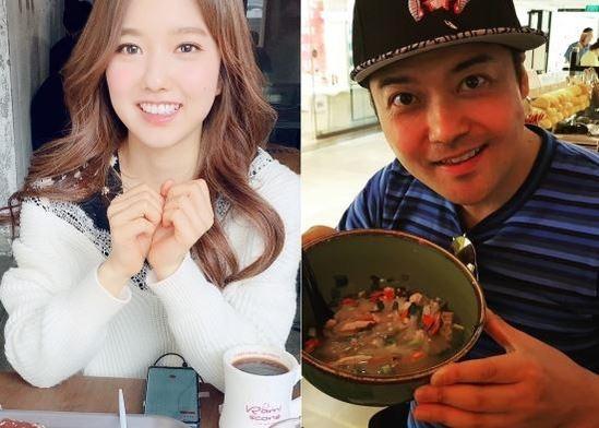 이혜성(왼쪽), 전현무 아나운서./인스타그램 캡처