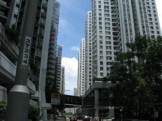 홍콩섬 타이쿠싱지역의 고층아파트 전경 /조선DB