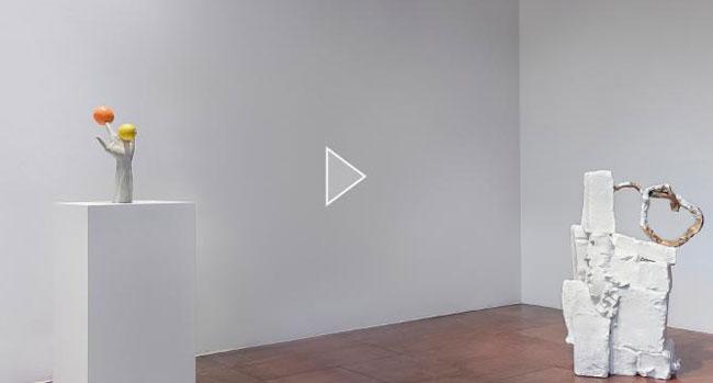 인터넷 사이트 이젤의 VR 영상으로 들여다본 서울 안국동 리만머핀 갤러리의 에르빈 부름 개인전.