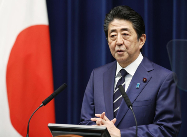 아베 신조 일본 총리. /교도연합뉴스