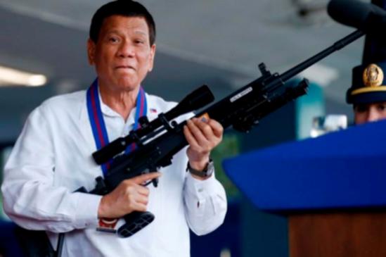 로드리고 두테르테 필리핀 대통령/트위터 캡쳐