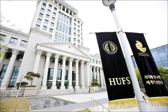 한국외대는 'QS 세계대학평가'에서 3년 연속 국내 종합대학 8위를 차지하며 '글로벌 외대' '국제화 1위 대학'이란 수식어의 어울리는 행보를 이어가고 있다./한국외대 제공