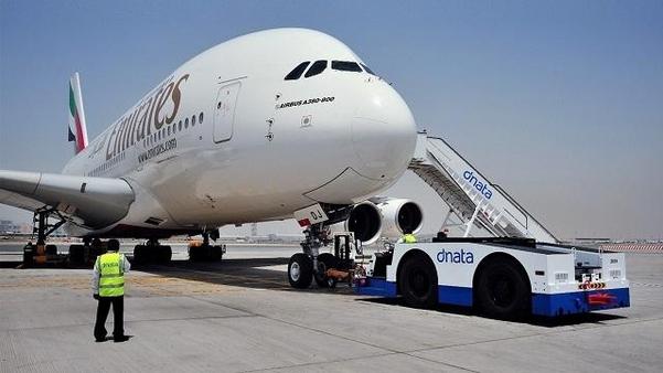 에미레이트 항공의 A380 여객기./에미레이트 항공 트위터