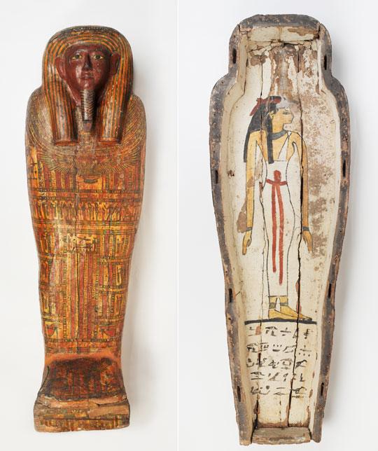 2700년 전 제작한 토티르데스 관.