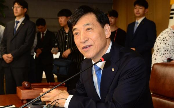 이주열 한국은행 총재./한국은행 제공