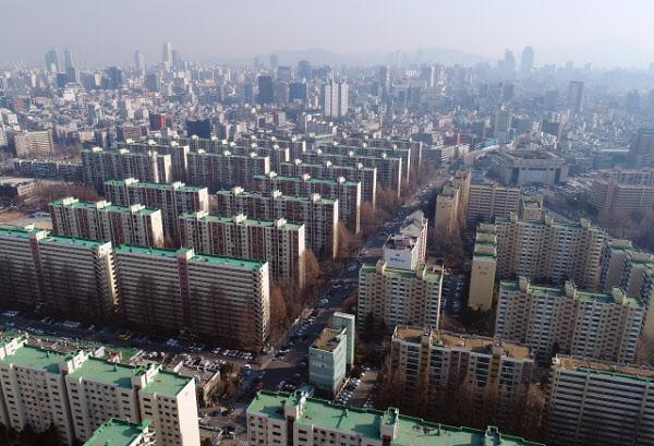 서울 시내 아파트 전경/조선DB
