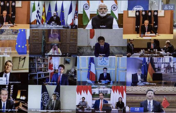 G20 화상정상회의./연합뉴스