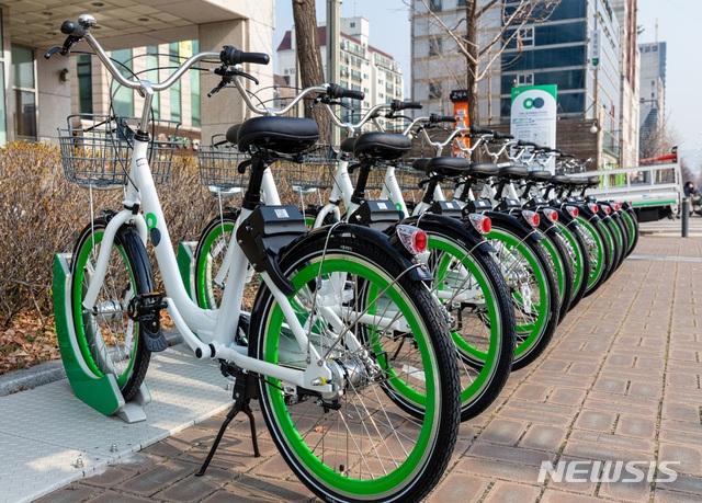 서울공공자전거 따릉이