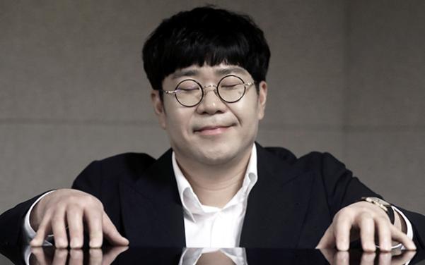 그는 평창 동계올림픽 시상식 음악을 만든 것이 작곡가로 잊지 못할 영광이라고 했다./사진=장련성 기자