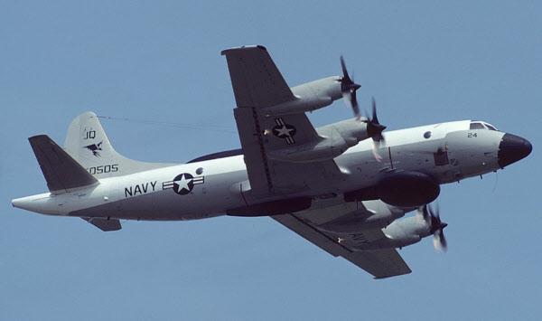 미 해군 EP-3E 항공기./Airliners 홈페이지