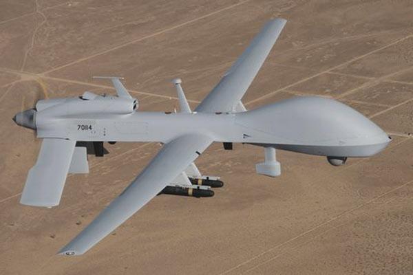 2018년 이후 주한미군 군산공군기지에 배치돼 있는 그레이 이글 무인공격기/GA-ASI사