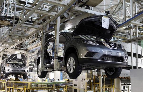 일본 후쿠오카에 있는 닛산자동차의 완성차 공장. / 로이터 연합뉴스