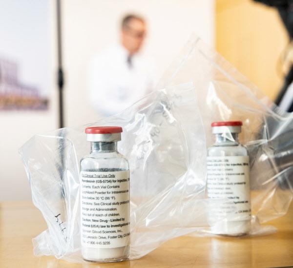 항바이러스 치료제 렘데시비르./로이터 연합뉴스