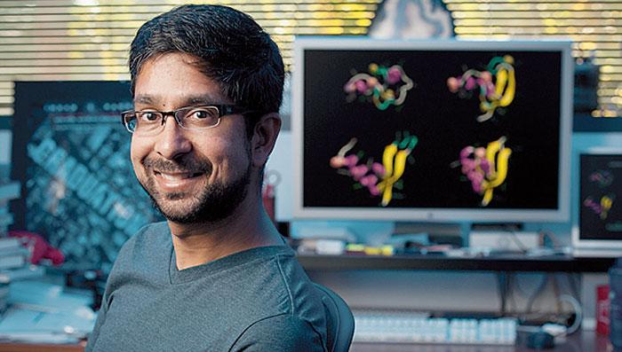 지난 2000년 폴딩앳홈 사업을 시작한 미 스탠퍼드대의 비자이 판데 교수.