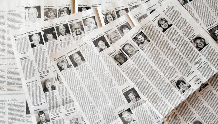 美 코로나 참상… 보스턴글로브 16개 면에 펼쳐진 부음