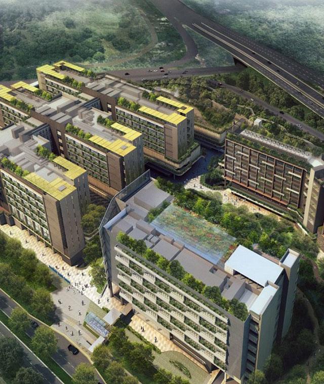 쌍용건설, 싱가포르 종합병원 공사 수주