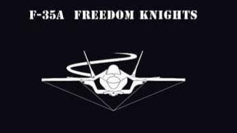 F-35A를 운용하는 152전투비행대대의 새로운 엠블럼. /공군