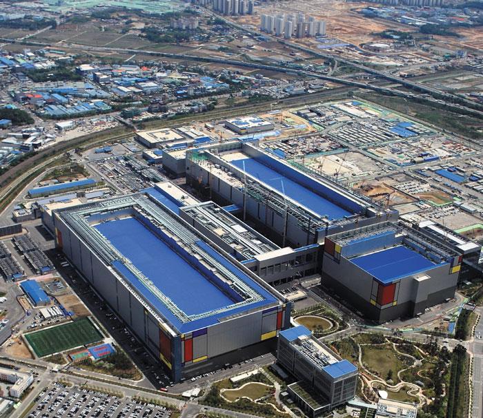 삼성전자의 평택캠퍼스 모습.