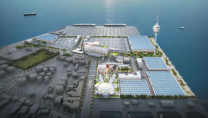 중고차 전문 수출 밸리, 인천항에 2025년 조성