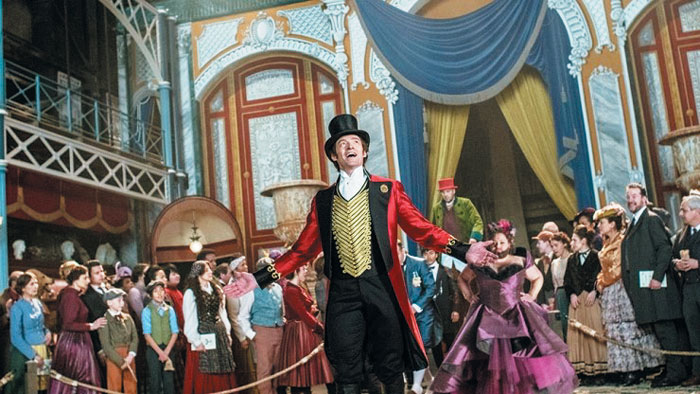 서커스에서 사람 성격을 맞히는 재주로 유명한 바넘을 주인공으로 내세운 영화 '위대한 쇼맨'.