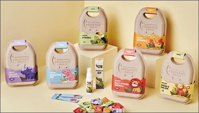 동아제약은 사회적 가치 창출의 일환으로 어린이 영양제품 '미니막스 정글'을 출시했다. 동아제약 제공