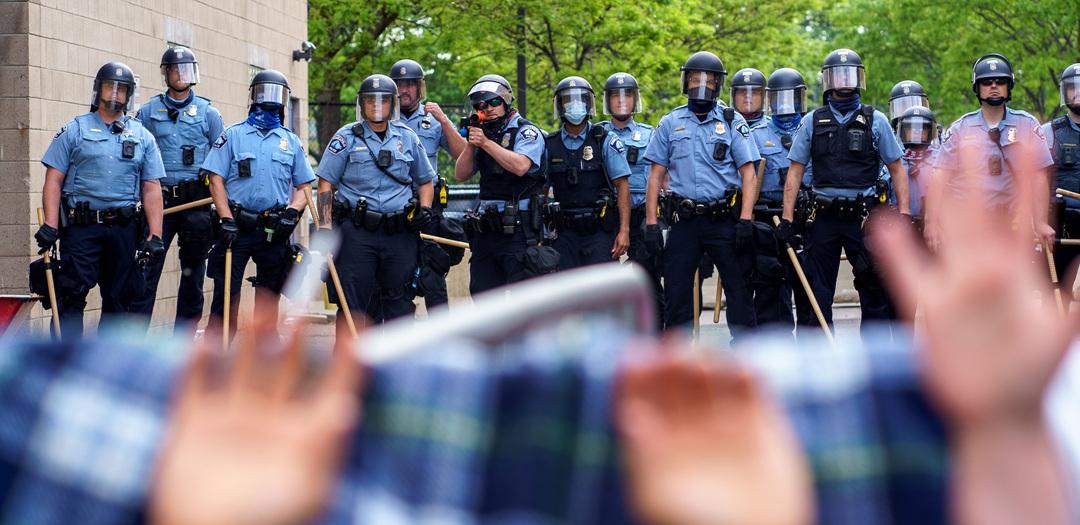 미네소타주 흑인 사망, 수백명 분노 시위…트럼프 대통령 조사 지시 ...