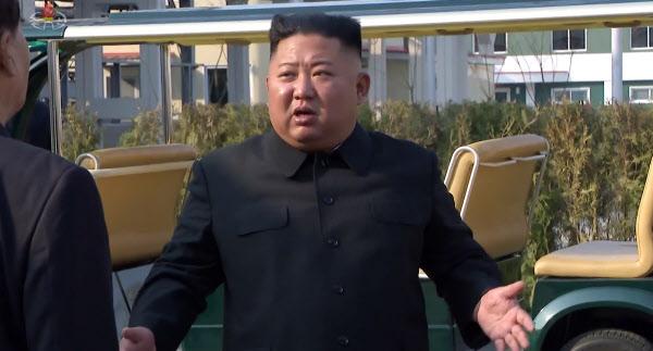 김정은 북한 국무위원장. /조선중앙TV