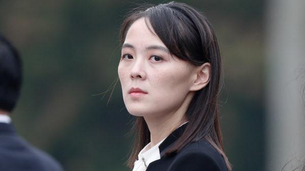 김여정 북한 노동당 제1부부장. /연합뉴스