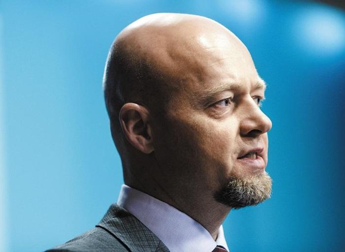 '노르웨이 국부펀드' 윙베 슬링스타드 CEO