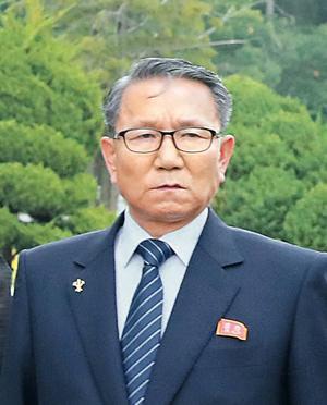 장금철 북한 노동당 중앙위 통일전선부장/조선DB