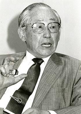 조선일보 논설위원·편집국장·주필을 지낸 언론인 최석채. 별세 3년 전인 1988년의 모습이다.