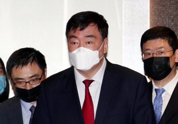 싱하이밍 주한 중국 대사 /연합뉴스