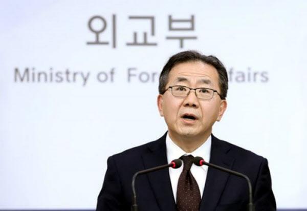 김인철 외교부 대변인. /연합뉴스