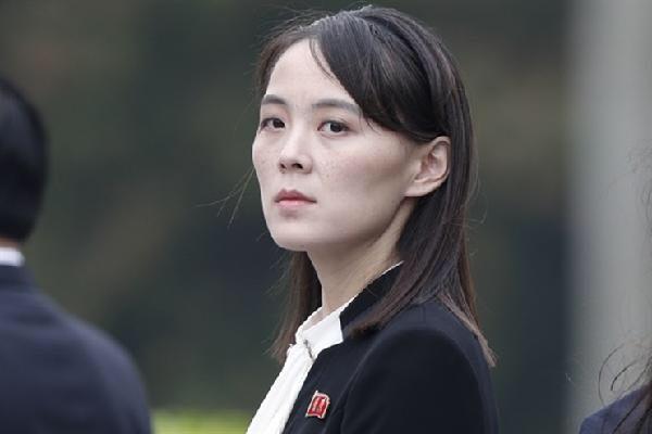 북한 김여정 부부장./조선닷컴DB