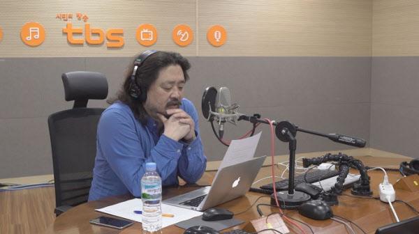방송인 김어준씨