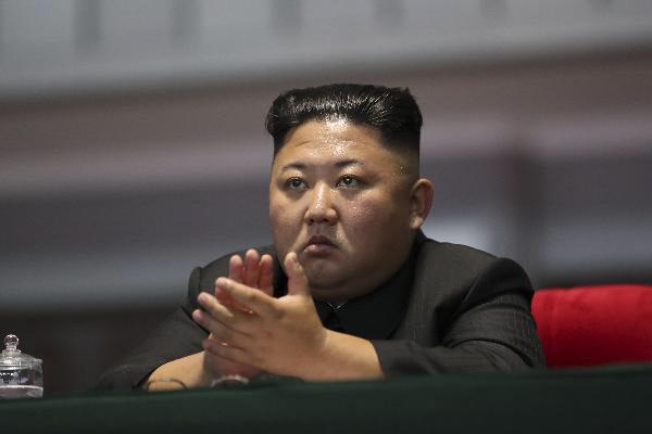 김정은 북한 국무위원장/조선DB