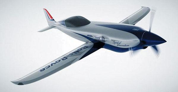 롤스로이스가 개발 중인 소형 전기 비행기.