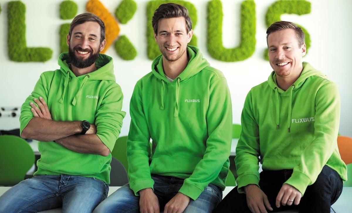 유럽 최대의 시외버스 스타트업 플릭스버스(Flixbus)를 만든 청년 3인방. 왼쪽부터 다니엘 크라우스, 요헨 엥게르트, 안드레 슈베믈라인.
