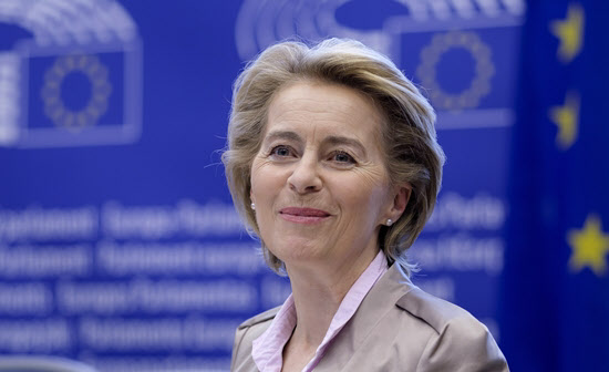 우르줄라 폰데어라이옌 EU 집행위원장/EPA 연합뉴스