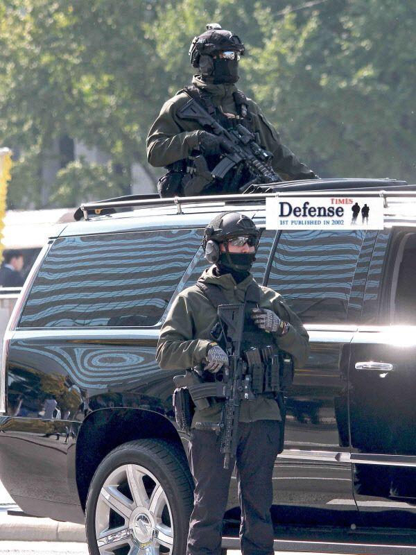 청와대 대통령 경호처가 도입해 운용중인 독일제 HK-416 소총. 빈 라덴을 잡은 소총으로 유명하다./월간 디펜스타임스